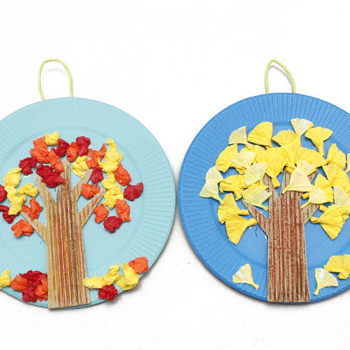 (아트드림) 가을 나무 만들기(단풍,은행나무)-2종