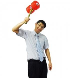 (풍성대통령) 뿅망치(대,26cm)